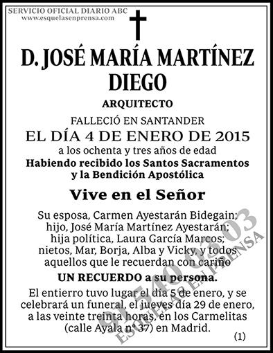 José María Martínez Diego